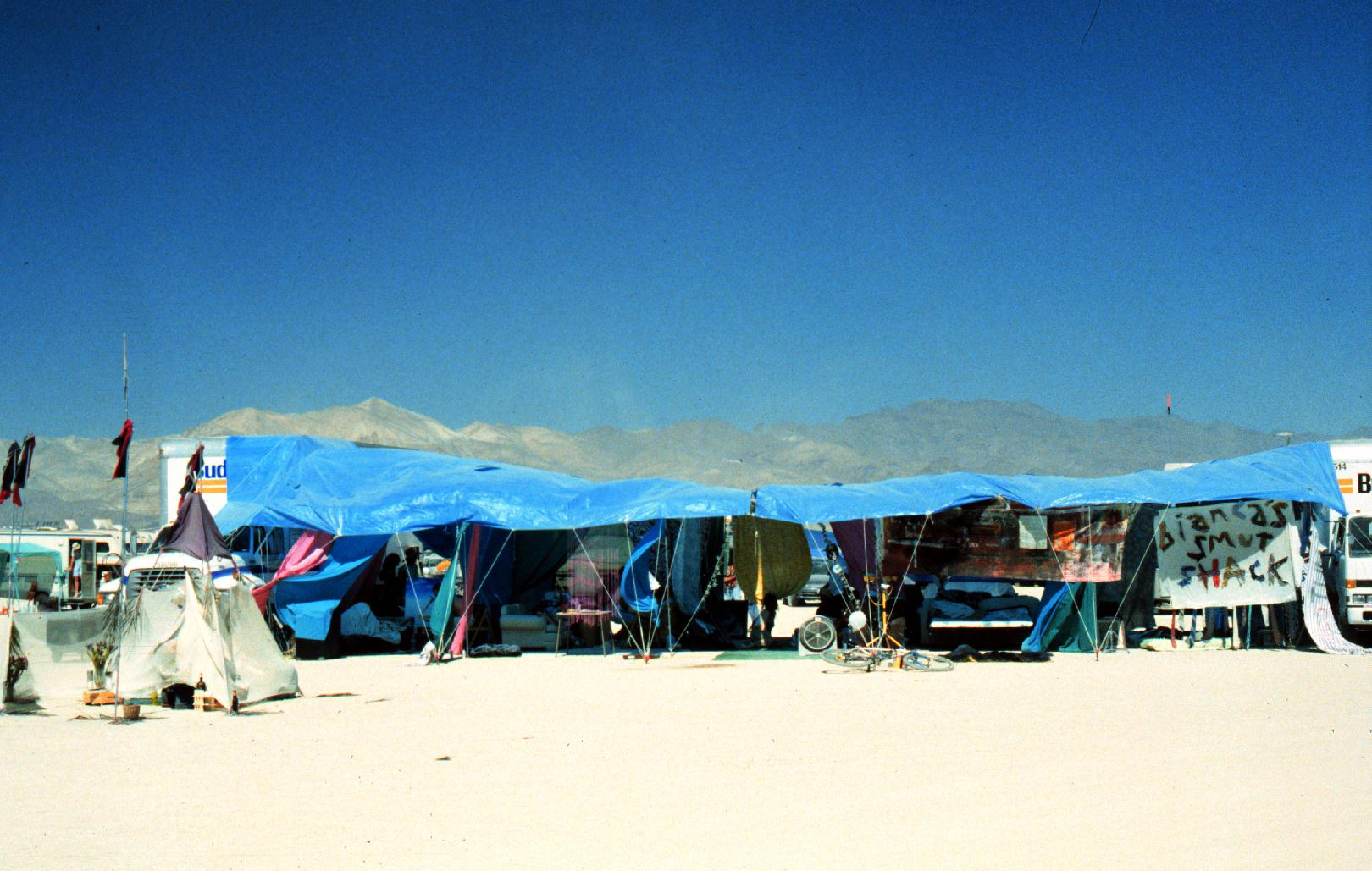 the first shack, daytime, 1996